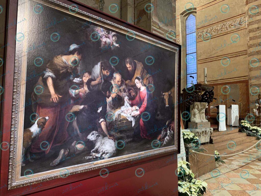 Verona – painting from Basilica di San Zeno