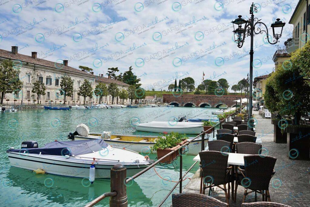 Peschiera – quiet at the port