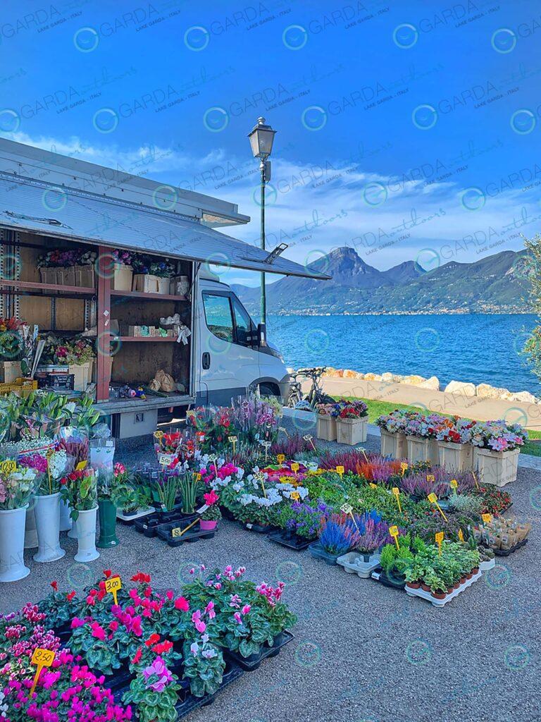 Castelletto di Brenzone – weekly market